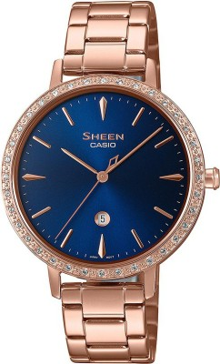 CASIO SH230 (SHE-4535YPG2AUDF) Sheen Analog Watch - For Women