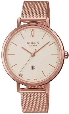 Casio SX276 (SHE-4539CGM-4AUDF) Sheen Analog Watch - For Women