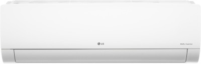 LG 1.5 Ton 4 Star Split Dual Inverter AC  - White(MS-Q18KNYA1, Copper Condenser)