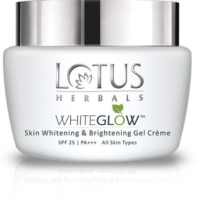 LOTUS HERBALS WhiteGlow Skin Whitening Brightening Gel Creme SPF-25 I PA+++(40 g)