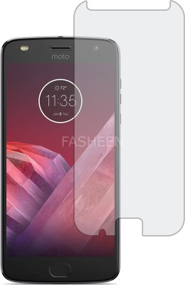 Fasheen Tempered Glass Guard for Motorola Moto Z2 Play(Pack of 1)