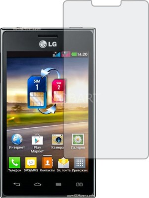 MOBART Tempered Glass Guard for LG OPTIMUS L5 DUAL E615 (ShatterProof, Flexible)(Pack of 1)