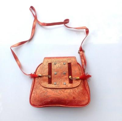 Vrundas lifestyle Orange Messenger Bag