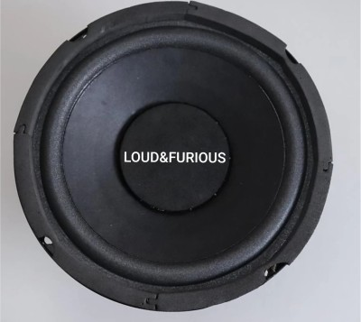 LOUD & FURIOUS HW654 Heavy 6 inch Woofer Subwoofer(Powered , RMS Power: 200 W)