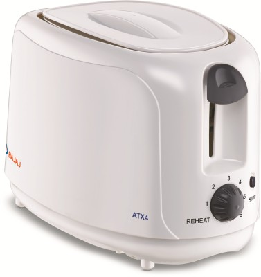BAJAJ by BAJAJ ATX 4 750 W Pop Up Toaster(White)