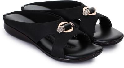 ShoeNstring Women Black Heels