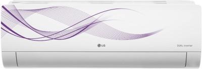 LG 1.5 Ton 5 Star Split Dual Inverter AC - White(MS-Q18WNZA, Copper Condenser)