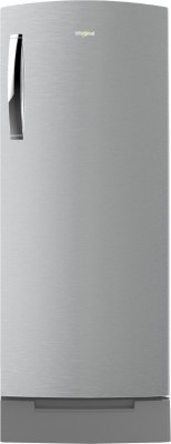 Whirlpool 200 L Direct Cool Single Door 3 Star Refrigerator with Base Drawer(Cool Illusia Steel, 215 IMPRO ROY 3S COOL ILLUSIA)