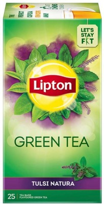 Lipton Tulsi Natura Tulsi Green Tea Bags Box (25 Bags)