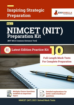 NIMCET NIT 2021 | 10 Full-length Mock Test For Complete Preparation  (Paperback, EduGorilla)