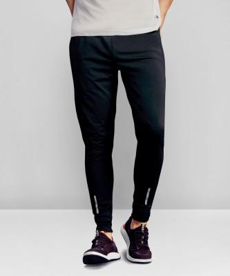 Foxter Solid Men Black Track Pants
