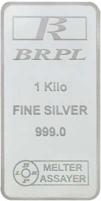 Bangalore Refinery S 999 1000 g Silver Bar Bangalore Refinery Coins   Bars