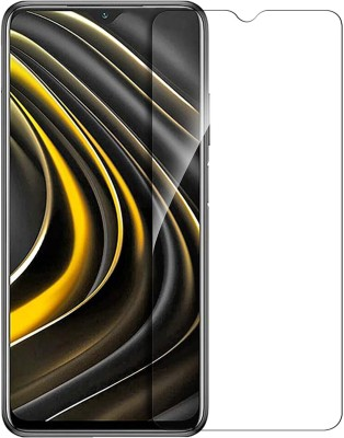 Fovtyline Tempered Glass Guard for Xiaomi Poco M3(Pack of 1)