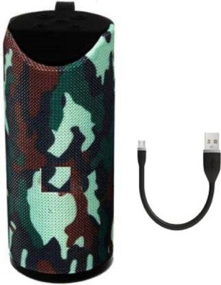 Bekner TG 113 Splashproof Portable Bluetooth Speaker with Rechargeable Battery for Mobile, Tablets, Laptops   Computers 5 W Bluetooth Speaker Speaker