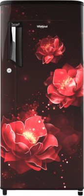 Whirlpool 190 L Direct Cool Single Door 4 Star Refrigerator(Wine Abyss, 205 IMPC PRM 4S INV WINE ABYSS)