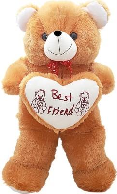 Prince Soft Toys Brown Teddy Bear 70 Cm   70 cm Brown Prince Soft Toys Soft Toys