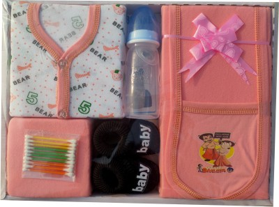 Siddhi Enterprises NEW BORN BABY GIFT SET OF 7(Set of 7)