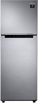 SAMSUNG 234 L Frost Free Double Door 2 Star Refrigerator Elegant Inox, RT28A3052S8/HL SAMSUNG Refrigerators
