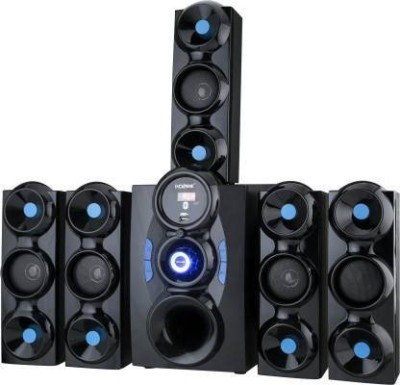 9 CORE New Jumbo High Bass Sound System 9500 W Bluetooth Home Theatre(Black, 5.1 Channel)