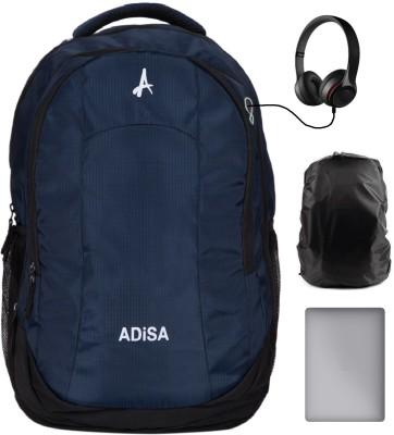 ADISA BP005 NAV 35 L Laptop Backpack Blue ADISA Backpacks
