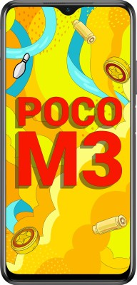 POCO M3 (Power Black, 64 GB)(6 GB RAM)