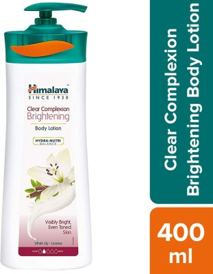 HIMALAYA Clear Complexion Brightening Body Lotion(400 ml)