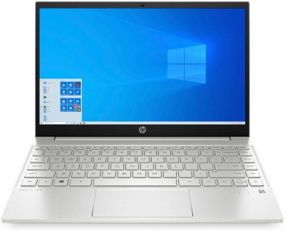 HP Pavilion Core i5 11th Gen - (16 GB/512 GB SSD/Windows 10 Home) 13-bb0075TU Thin and Light Laptop(13.3 inch, Natural...