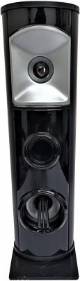 MAYUMI HiFi BASS Bluetooth Tower Speaker HOME Theater,AUX,USB,FM,ECHO MIC support Multimedia System (FREE MOBILE STAND) 10 W Bluetooth Tower Speaker(Black, Mono Channel)