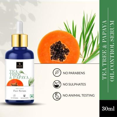 GOOD VIBES Oil Control Serum - Tea Tree & Papaya(30 ml)