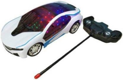 CG TOY FACTORY 3D Fast Modern Car(White)