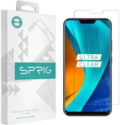 Sprig Edge To Edge Tempered Glass for Asus Zenfone 5Z(Pack of 1)