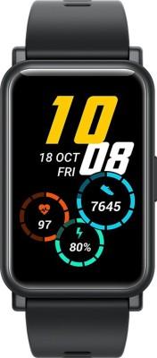 Honor Watch ES Smartwatch(Black Strap, Regular)