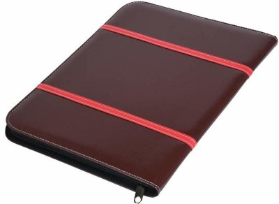 SUKHAD Leather Inbuilt Calculator(Set Of 1, Brown)