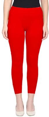 Comforter Ankle Length  Ethnic Wear Legging(Red, Solid)