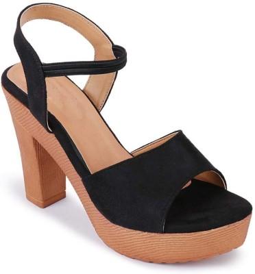 Shoe Lab Women Black Heels