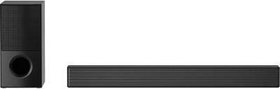 LG SNH5 With DTS Virtual:X and AI Sound Pro 600 W Bluetooth Soundbar (Black, 4.1 Channel)