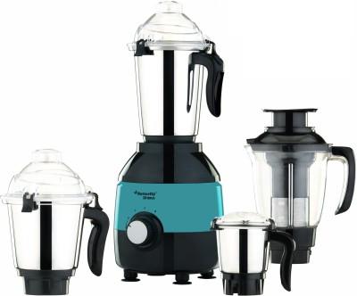 Butterfly Bhima 4 Jar Mixer Grinder 1000 W Mixer Grinder(Black with Green, 4 Jars)