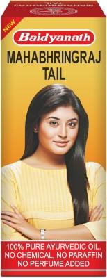 Baidyanath Mahabhringraj Tel – 200ml – Ayurvedic Hair Oil, No Added Chemicals or Fragrance