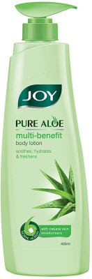 Joy Pure Aloe Multi-Benefit Body Lotion With Natural Skin Moisturisers, For all Skin Types(400 ml)