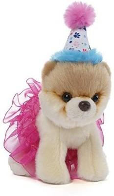GUND Itty Bitty Boo #027 Birthday Tutu Dog Stuffed Animal Plush, 5\ Black GUND Soft Toys