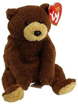 TY 1 X Beanie Baby   Bixby The Bear   3 inch Black TY Soft Toys