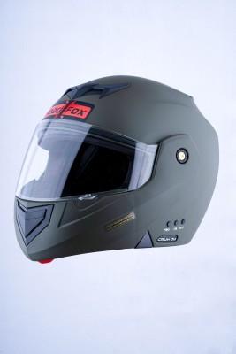 HEADFOX cx Bluetooth N1 Motorsports Helmet(Black)