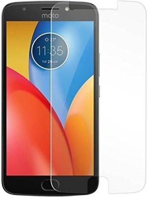 SHREEM TEMPERED Edge To Edge Tempered Glass for Motorola Moto E4 Plus(Pack of 1)