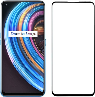 iZAP Edge To Edge Tempered Glass for Realme X7, Realme X7 Pro, Oppo F17 Pro, Oppo A93, Reno 4 Lite, Reno 4, Reno SE(Pack of 1)