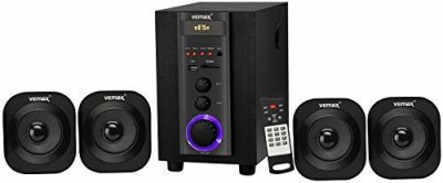 Vemax Rome 4.1 Bluetooth Home Theater System 35 W Bluetooth Home Theatre(Black, 4.1 Channel)