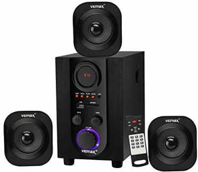 Vemax Oslo 3.1 Bluetooth Home Theater System 35 W Bluetooth Home Theatre(Black, 3.1 Channel)