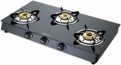 BAJAJ GP6, 3-Burner Aluminium Manual Gas Stove(3 Burners)