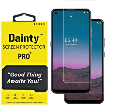 Dainty Tempered Glass Guard for Nokia 5.4(Pack of 2)