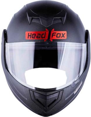HEADFOX cx Bluetooth N1 Motorsports Helmet(MATT BLACK)