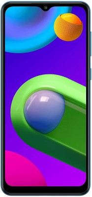 SAMSUNG Galaxy M02 (Blue, 32 GB)(3 GB RAM)